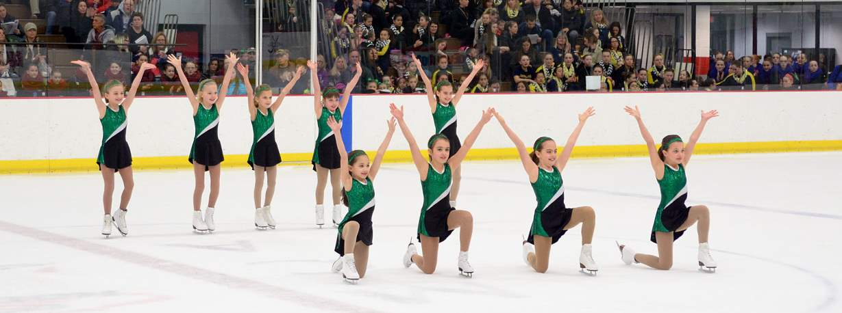 synchronized skating team